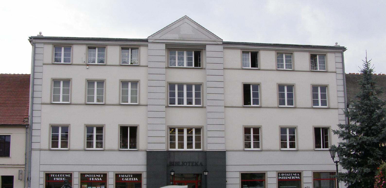 Miejska Biblioteka Puibliczna Budynek