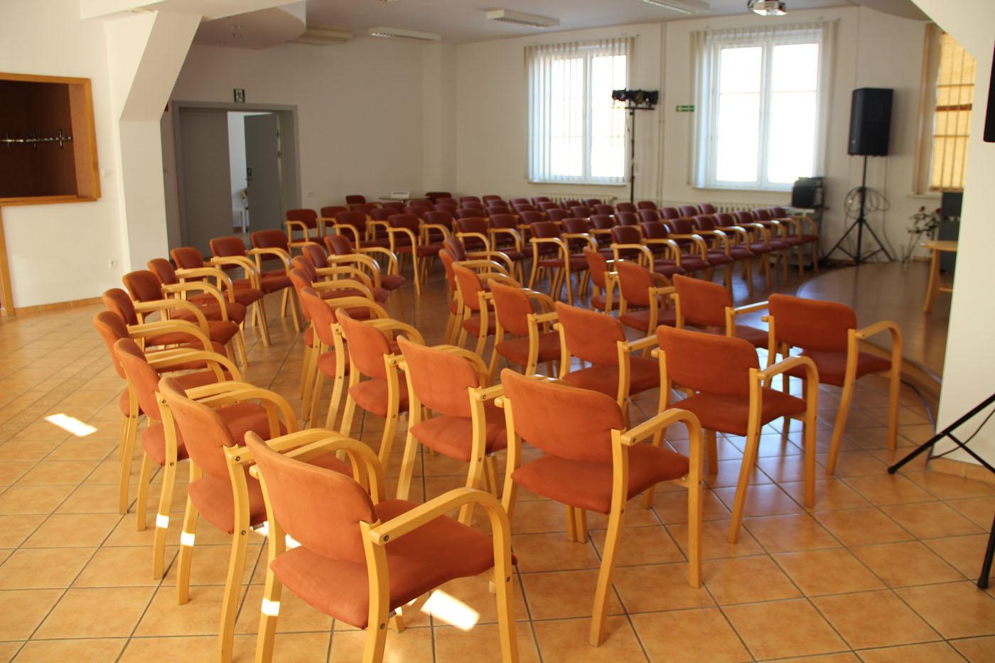 Sala konferencyjno-odczytowa