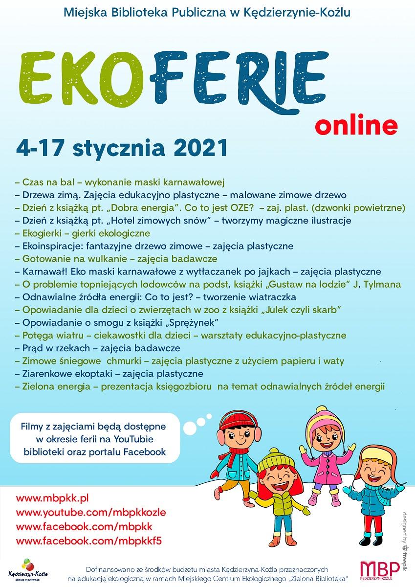 Ekoferie online 2021