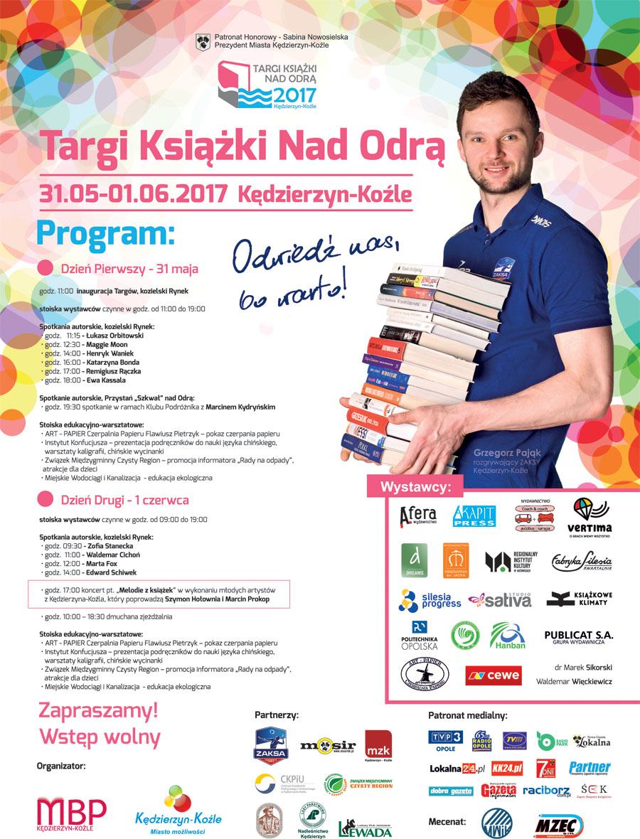 Targi Książki nad Odrą 2017 Afisz