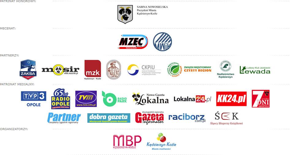 Targi Książki nad Odrą 2017 Logotypy