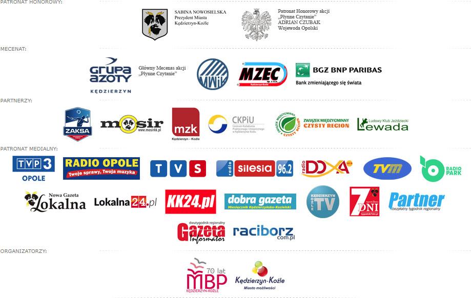 Targi Książki nad Odrą 2018 Logotypy