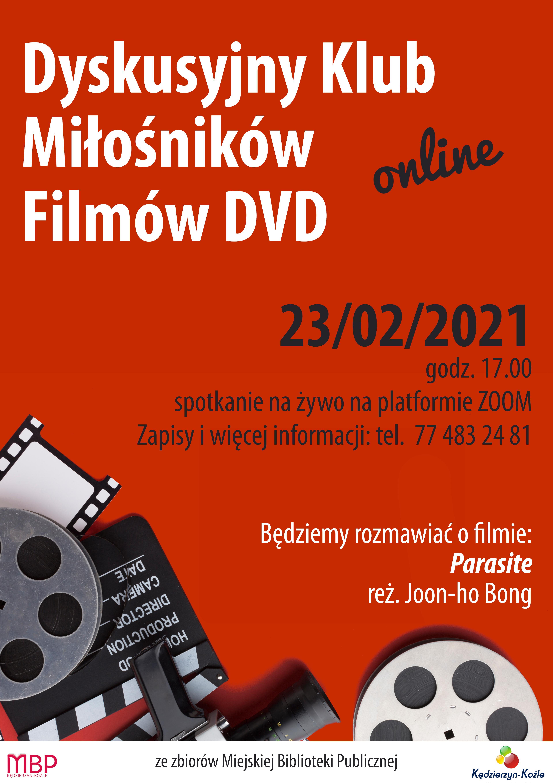 plakat Klubu Miłośników Filmów DVD