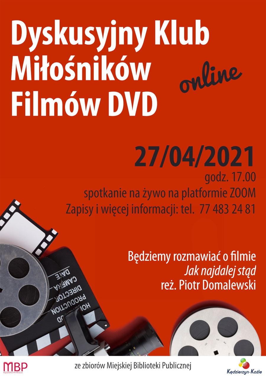 Dyskusyjny Klub Miłośników Filmów DVD Plakat