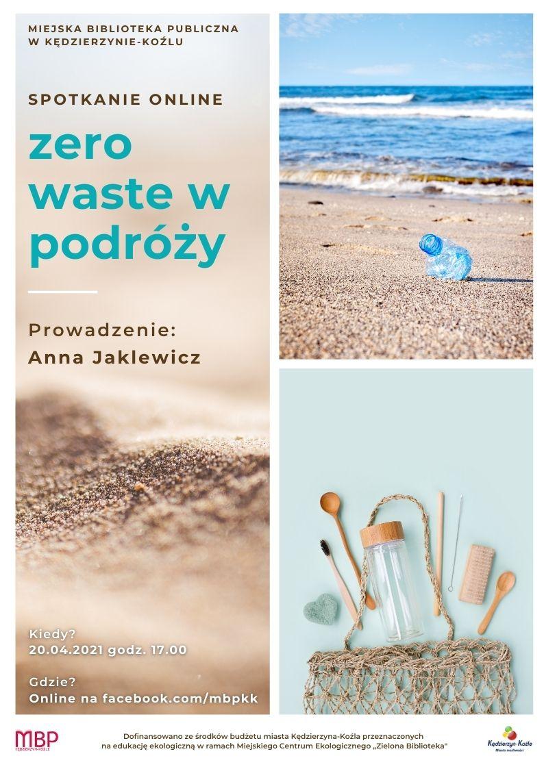 plakat wydarzenia zero waste w podróży
